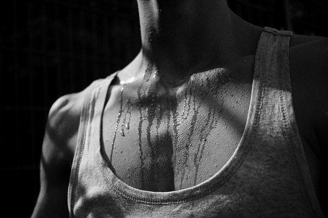 anti zweet shirt